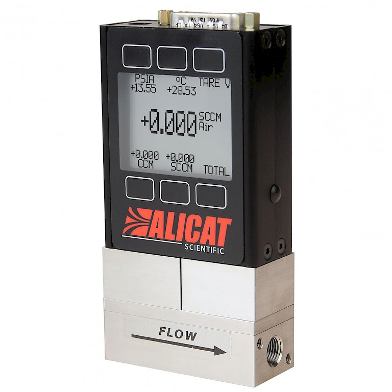 Alicat MS Series Anti Corrosive Mass Flow Meter for use with Aggressive and Corrosive Gases.