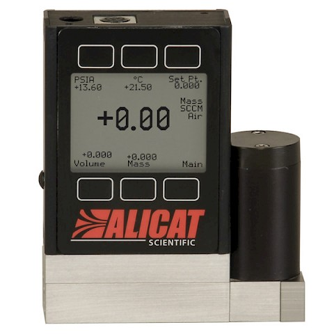 Alicat MC Series Mass Flow Controller for use with Gases
