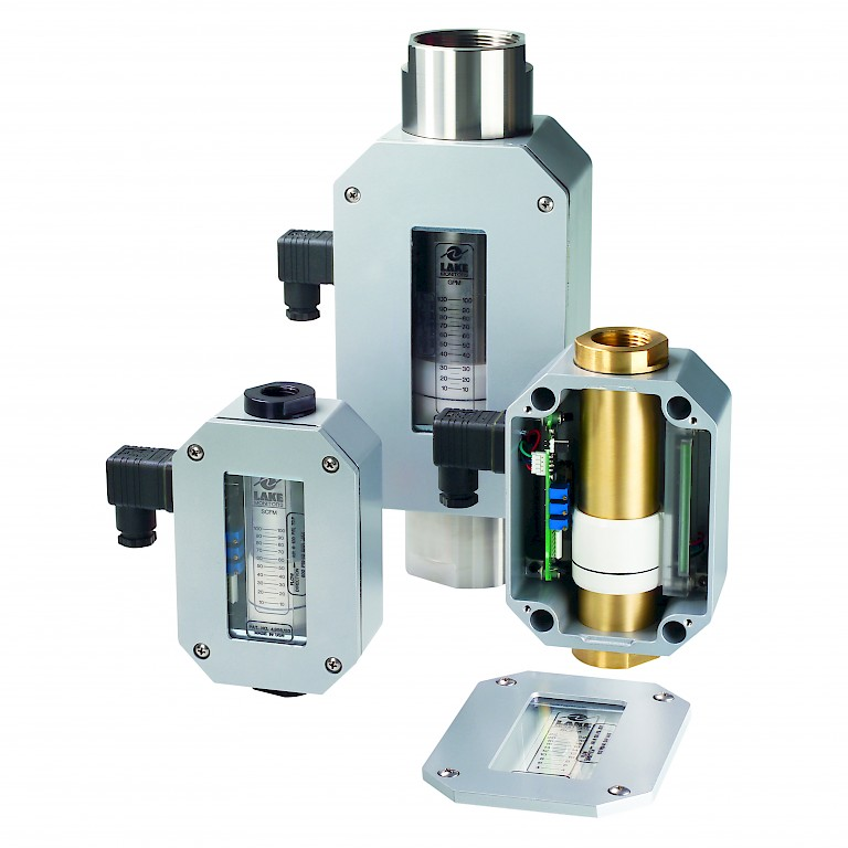 Lake T Series Variable Area Flow Transmitter for Liquids and Gases Group