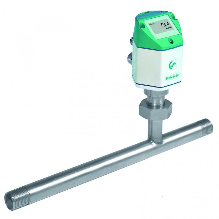 Flow Measuring Instruments : Data logger calorimetric flow meter measuring