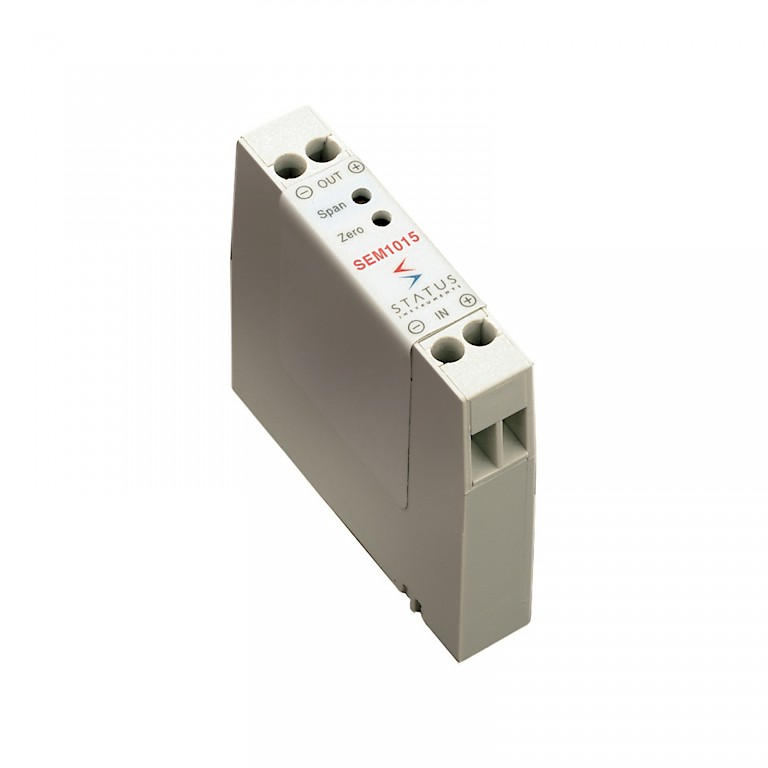 Status SEM1015 Loop Powered Voltage to Current Converter or Isolator