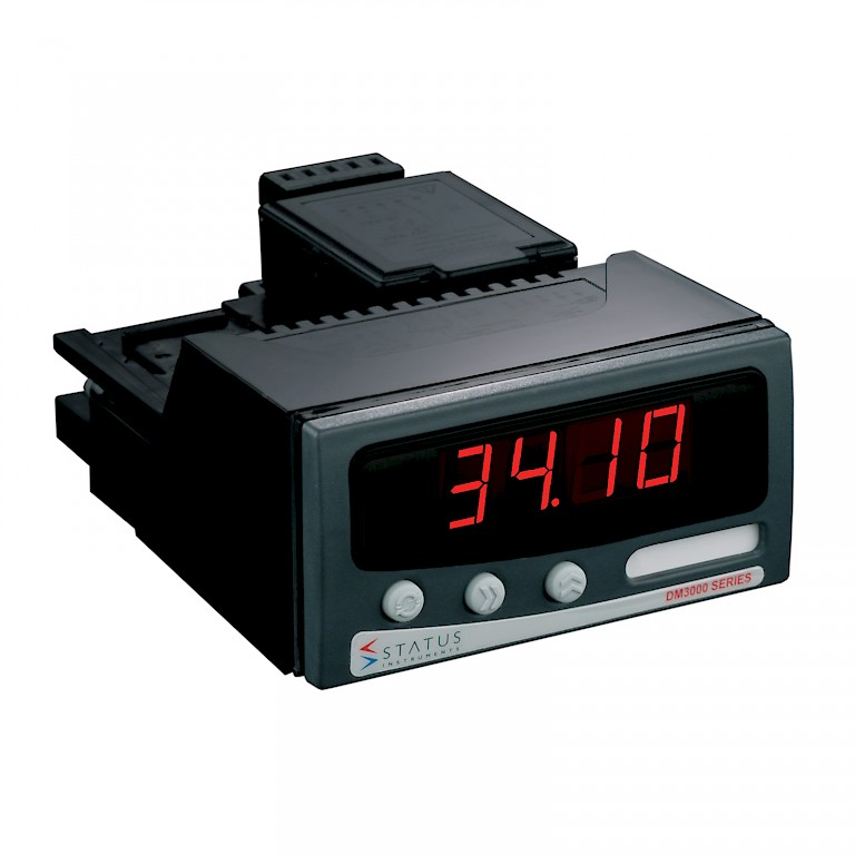 Panel Mount 4 20 Ma Digital Indicator : Digital panel meter process displays loop powered indicator