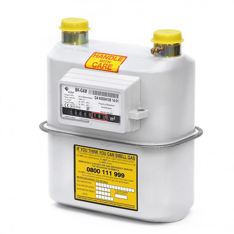 4 Gas Meter : Elster bk g diaphragm gas meter