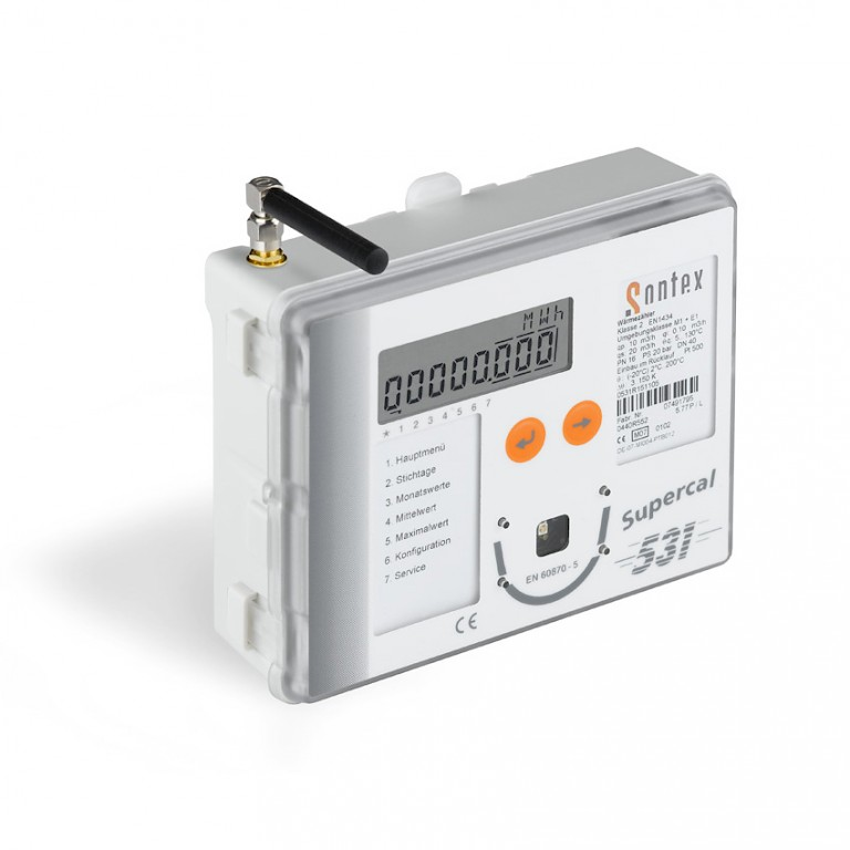 Supercal 531 Energy Integrator with wireless module