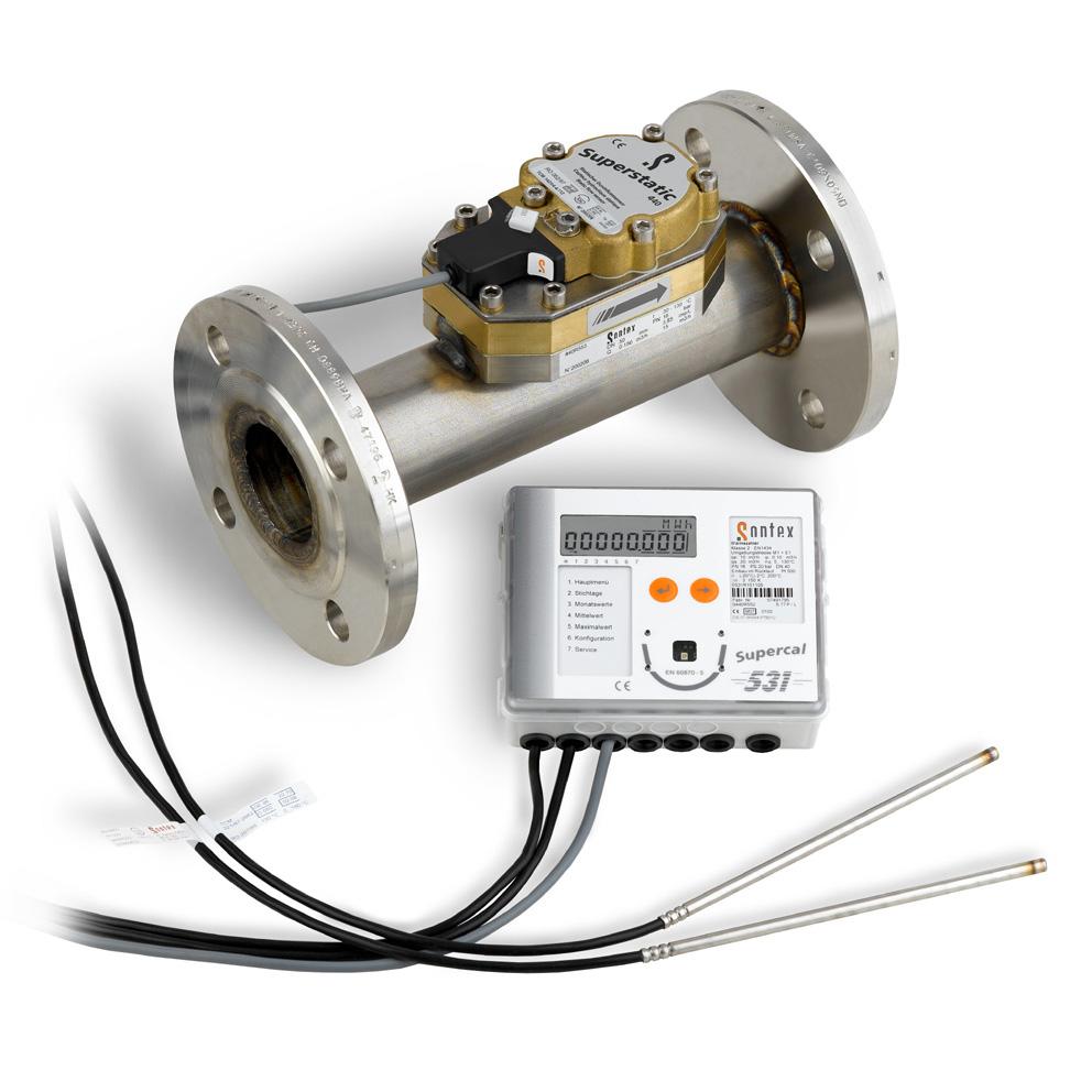 Thermal Energy Meter : Heat meter energy cooling heating