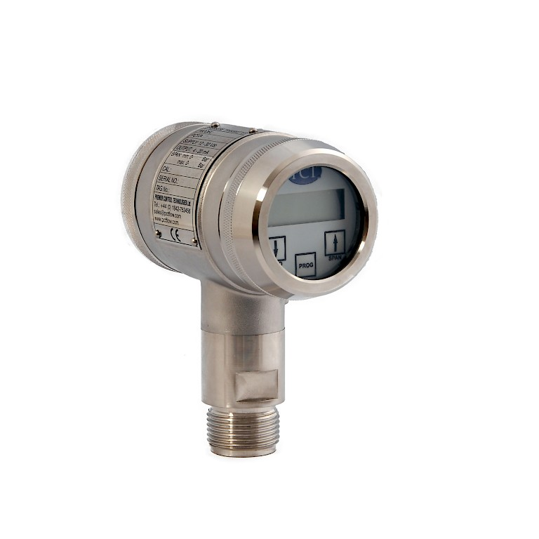 PCT Z1 Series Pressure Transmitter with Threaded Connection Side View