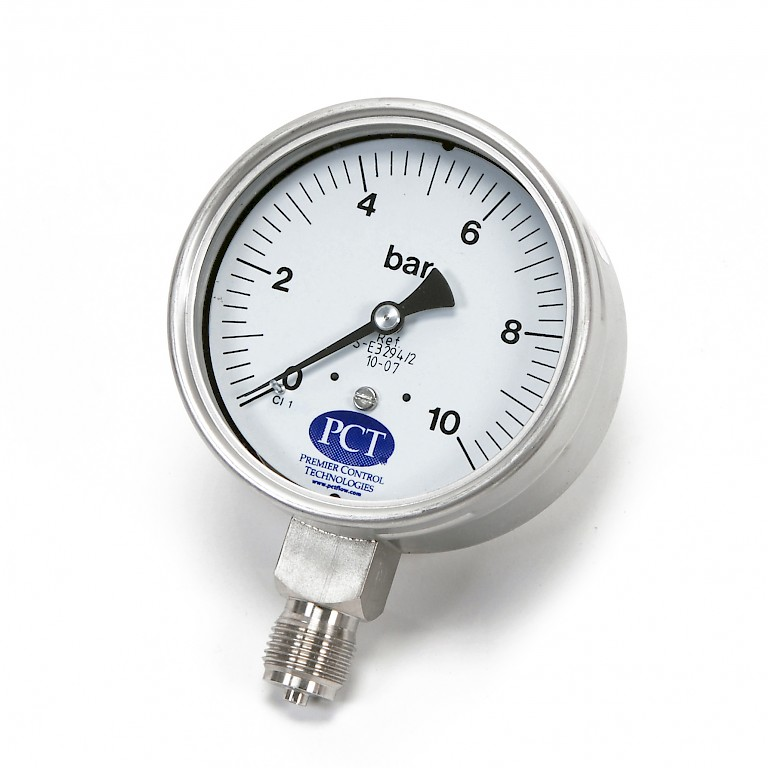 PCT Pressure Gauge 100mm Diameter
